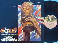 Rick Wakeman ORIG OZ OST LP Gole! NM '83 Charisma Art Rock Yes '82 World Cup
