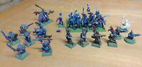 ⭐ Vintage 90s RARE Warhammer Bundle - Games Workshop metal Skaven Elves Orcs ⭐