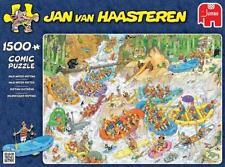 PUZZLE COMIC DE RAFTING (1500 PIEZAS). DE JAN VAN HAASTEREN.PUZZLES JUMBO 19015.