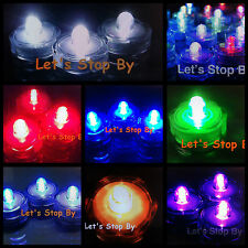96 LED Submersible Wedding Floral Floralytes Centerpiece Decoration VaseTealight