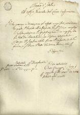 Regno d'Italia Napoleone Re d'Italia Ufficio del Censo in Ferrara 1809