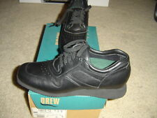Drew Activity Black Calf Women's Shoes Size 7.0 N Narrow Leather NEW