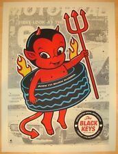 The Black Keys 2012 Poster Manchester Uk Signed & Numbered #/175 Rare!