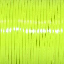 100 YARDS (91m) SPOOL GLOW YELLOW REXLACE PLASTIC LACING CRAFTS CYBERLOX