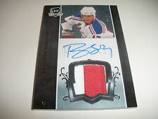 2007 07 -08  THE CUP BRANDON DUBINSKY 2 CLR ROOKIE PATCH AUTO AUTOGRAPH 115/249