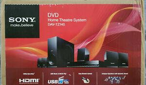 Sony DAV-TZ140 DVD Home Theater System New, Open Box.