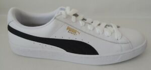 NEU Puma Basket Classic LFS Größe 48,5 Leder Sneaker Schuhe 354367-22 white