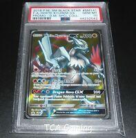 PSA 10 GEM MINT White Kyurem GX SM141 SM Black Star Promo FULL ART Pokemon Card