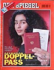 SPIEGEL 2/1999 Die doppelte Staatsbürgerschaft