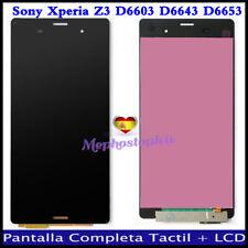 Pantalla Para Sony Xperia Z3 D6603 D6643 LCD Display Tactil Digitalizador Negro