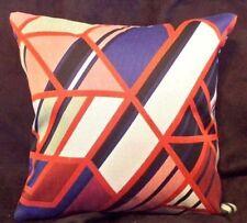 Maharam A BAND APART by Sarah Morris Modern Mid Century Square Pillow
