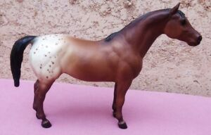 Breyer #154 Pony of the Americas - bay blanket Palouse
