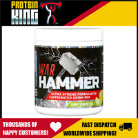 INTERNATIONAL PROTEIN WAR HAMMER 30 SERVES HONEYDEW MELON PRE WORKOUT HIGH STIM