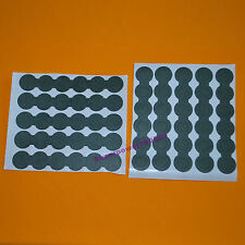 18650 battery insulation paper SIX joint hollow & solid  adhesive cushion pad
