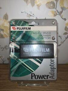 Genuine Fujifilm 5V Power Adapter. (AC-5V - AC5VHS). Brand New In Box.      #O