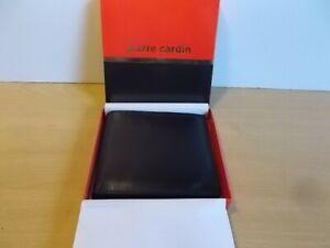PIERRE CARDIN GENUINE LEATHER WALLET BOXED