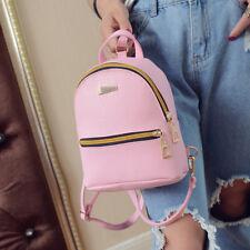 Fashion New  Faux Leather Mini Backpack Girls Handbag School Rucksack Bag Hot
