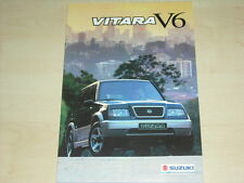 57830) Suzuki Vitara V6 Schweiz Prospekt 05/1995