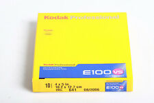 1 Packung Kodak Professional E100 VS 4x5in EKTACHROME Film 10 Sheets , MHD 2006