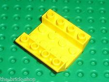 LEGO Yellow slope brick ref 4854 / Set 7900 6481 6597 10159 6600 7994 6456 6545