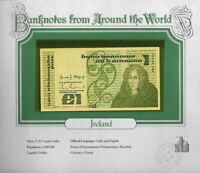 World Banknotes Ireland 10-07-1984 1 pound UNC P 70c UNC Low DKI 003591