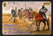 Strelets Models 1/72 Mounted Crusaders In Oriental Dress Figure Set