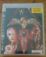 SOUL CALIBUR IV 4 PS3 PlayStation 3 Game Boxed without manual