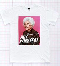 Hey Pussycat Sophia T-shirt Golden Girls Dorothy Blanche Tee Retro Gay Pride