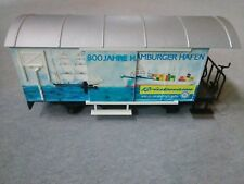 LGB G Scale 4028 HH 800 Jahre Hamburger Hafen Boxcar ~ TS