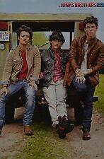 JONAS BROTHERS - A3 Poster (ca. 42 x 28 cm) - Nick Clippings Fan Sammlung NEU