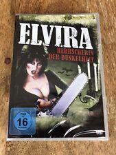 Elvira - Herrscherin der Dunkelheit [DVD] Cassandra Peterson, Kult, neu, ovp,oop