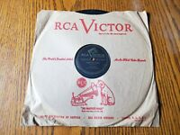 """RCA Victor Records, 78rpm, Jack Lathrop & The Drugstore Cowboys, """"Hair of Gold""""."""