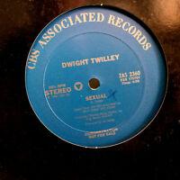 "DWIGHT TWILLEY - Sexual (Promo) - 12"" Vinyl Record Single - EX"