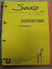 Werkstatthandbuch Reparaturleitfaden CITROEN Saxo #12234