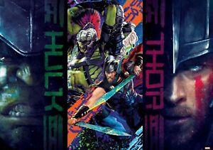 312x218cm Nicht Gewebt Tapete Wandkunst Marvel Thor Ragnarog Foto Wandposter Typ