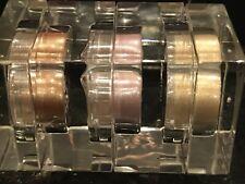 ELIZABETH ARDEN 3 X SHIMMER POWDER 3 G EACH NEW GOLD BRONZE LAVENDER