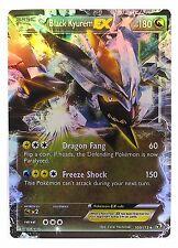Pokémon Individual Cards EX Black Kyurem 100/113  with Card Sleeve and Box Case