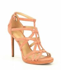 Michael Kors Sandra Platform Strappy Stiletto Sandals 009 Terra 7 US / 37 EU