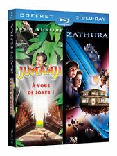 ZATHURA + JUMANJI Blu-ray (Edition Française) RARE