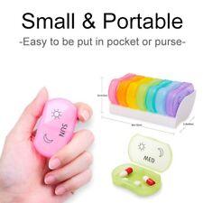 7 Tage Pillendose Mini Pillenbox Tablettenbox Medikamentenbox Medikamtendose ver