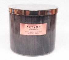 1 Bath & Body Works AUTUMN WOODS Large 3-Wick Scented Candle 14.5 oz