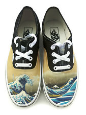 The Great Wave Authentic Laced Vans Brand Shoes