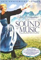 The Sound of Music DVD 2005 2-Discs 40th Anniversary 6 Hours of Extra features