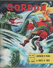 GORDON fratelli spada N.37 I COSPIRATORI DI POLARIA  flash f.lli mac raboy 1965