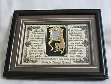 """Plaque, Michael Jackson,""""MAN IN THE MIRROR"""" Wooden Framed Gifts - Hand Designed"""