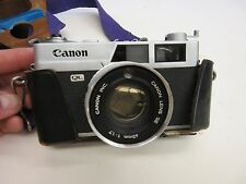 CANON~Vintage~CANONET QL-17~35mm Camera~45mm f/1.7 LENS•WORKS