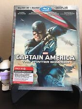 Captain America: The Winter Soldier Target Exclusive 3D Blu-ray with slipcover!