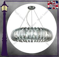 THE LARGE SUSPENDED CANTERBURY HALO - ACRYLIC CRYSTAL - PENDANT LIGHT CHANDELIER