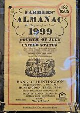 Farmer's Almanac For the Year of Our Lord 1999 182 for Bank of Huntington TN