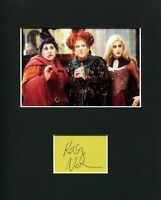 Kathy Najimy Hocus Pocus Mary Rare Signed Autograph Photo Display
